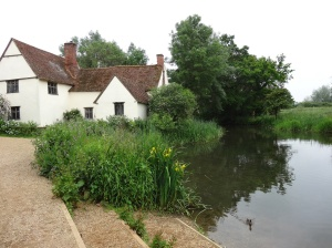 Near where Constable painted the famous Haywain
